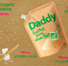 DADDY Sucre de canne bio en emballage en papier kraft brut